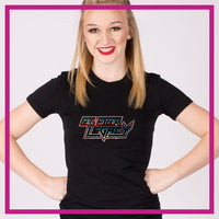 Fitted-Tshirt-all-star-legacy-GlitterStarz-Custom-Rhinestone-Bling-Apparel-for-Cheer-and-Dance