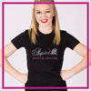 Fitted-Tshirt-aspire-dance-center-GlitterStarz-Custom-Rhinestone-Bling-Apparel-for-Cheer-and-Dance