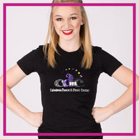 Fitted-Tshirt-caledonia-dance-and-music-center-GlitterStarz-Custom-Rhinestone-Bling-Apparel-for-Cheer-and-Dance