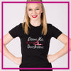 Fitted-Tshirt-extreme-kids-dance-academy-GlitterStarz-Custom-Rhinestone-Bling-Apparel-for-Cheer-and-Dance