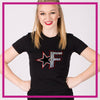 Fitted-Tshirt-fusion-allstars-GlitterStarz-Custom-Rhinestone-Bling-Apparel-for-Cheer-and-Dance