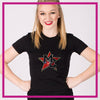 Fitted-Tshirt-magnitude-cheer-GlitterStarz-Custom-Rhinestone-Bling-Apparel-for-Cheer-and-Dance