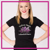 Fitted-Tshirt-melissa-marie-school-of-dance-GlitterStarz-Custom-Rhinestone-Bling-Apparel-for-Cheer-and-Dance
