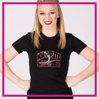 Fitted-Tshirt-mias-elite-school-of-dance-GlitterStarz-Custom-Rhinestone-Bling-Apparel-for-Cheer-and-Dance
