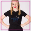 Fitted-Tshirt-on-pointe-performing-arts-center-GlitterStarz-Custom-Rhinestone-Bling-Apparel-for-Cheer-and-Dance
