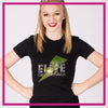 Fitted-Tshirt-sodc-elite-dance-infusion-GlitterStarz-Custom-Rhinestone-Bling-Apparel-for-Cheer-and-Dance