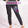 GlitterStarz Bling Basics Jogger Pants with custom Team Logo