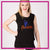 AA Stagg Orchesis Bling Lace Tank with Rhinestone Logo