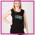 Arizona Element Elite Bling Lace Tank with Rhinestone Logo