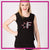 Fusion Allstar Cheer Bling Lace Tank with Rhinestone Logo