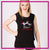 Lisa's Dance Boutique Bling Lace Tank with Rhinestone Logo