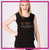 Maria's School of Dance Bling Lace Tank with Rhinestone Logo