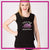 Melissa Marie School of Dance Bling Lace Tank with Rhinestone Logo