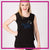 On Pointe Performing Arts Center Bling Lace Tank with Rhinestone Logo