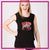 Pennsylvania Elite Bling Lace Tank with Rhinestone Logo