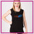 South Bay Cheer 360  Bling Lace Tank with Rhinestone Logo