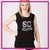 Southern Coast Elite Bling Lace Tank with Rhinestone Logo
