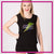Steppin' Out Dance Center Bling Lace Tank with Rhinestone Logo