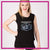 Tennessee Xtreme Bling Lace Tank with Rhinestone Logo