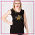 Top Notch Dance Company Bling Lace Tank with Rhinestone Logo