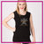 World Class Allstars Bling Lace Tank with Rhinestone Logo