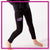 RCA Bling Leggings with Rhinestone Logo