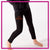 AA Stagg Orchesis Bling Leggings with Rhinestone Logo