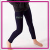 LEGGINGS-buffalo-envy-GlitterStarz-Custom-Rhinestone-Bling-Team-Apparel-Leggings-Cheerleading-Dance-navy