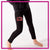 Mia's Elite School of Dance Bling Leggings with Rhinestone Logo