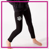 LEGGINGS-wauconda-bulldogs-GlitterStarz-Custom-Rhinestone-Bling-Team-Apparel-Leggings-Cheerleading-Dance