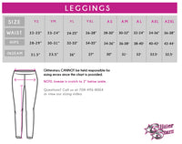 All Star Legacy Bling Leggings with Rhinestone Logo