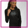 CYSC Elite Force Bling Lightweight Hoodie with Rhinestone Logo