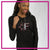 Fusion Allstar Cheer Bling Lightweight Hoodie with Rhinestone Logo