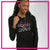 OBCDA Dance Studio Bling Lightweight Hoodie with Rhinestone Logo