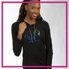 LIGHTWEIGHT-HOODIE-on-pointe-performing-arts-center-GlitterStarz-Custom-Rhinestone-Hoodie-with-bling-logo