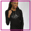 LIGHTWEIGHT-HOODIE-the-dance-project-GlitterStarz-Custom-Rhinestone-Hoodie-with-bling-logo