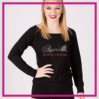 LONGSLEEVELACEFRONT-aspire-dance-center-GlitterStarz-Custom-bling-logo-Rhinestone-Apparel-For-Cheer-and-dance