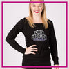 LONGSLEEVELACEFRONT-cheer-obsession-GlitterStarz-Custom-bling-logo-Rhinestone-Apparel-For-Cheer-and-dance