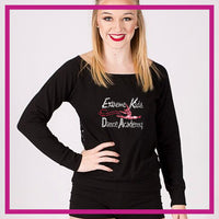 LONGSLEEVELACEFRONT-extreme-kids-dance-academy-GlitterStarz-Custom-bling-logo-Rhinestone-Apparel-For-Cheer-and-dance