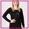 LONGSLEEVELACEFRONT-on-pointe-performing-arts-center-GlitterStarz-Custom-bling-logo-Rhinestone-Apparel-For-Cheer-and-dance