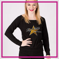 LONGSLEEVELACEFRONT-top-notch-dance-company-GlitterStarz-Custom-bling-logo-Rhinestone-Apparel-For-Cheer-and-dance