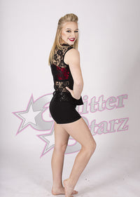 GlitterStarz Bling Basics Lace Back Tank