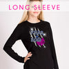 GlitterStarz Bling Basics Long Sleeve Top