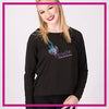 Ignite Moms Favorite Bling Top with Rhinestone Logo