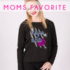 GlitterStarz Bling Basics Moms Favorite Top with Rhinestone Logo