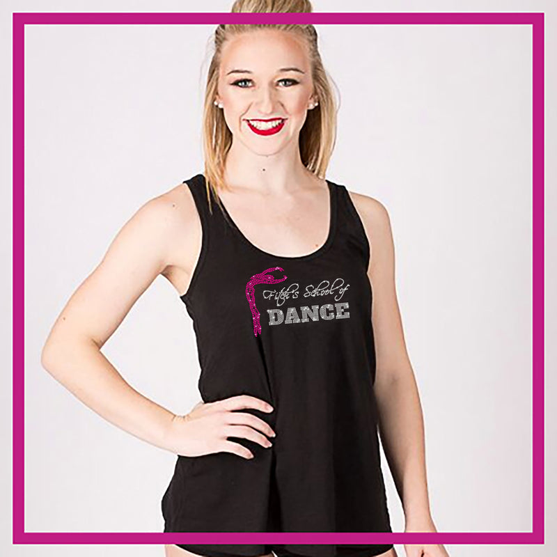 8b24f27238fc Fitch s School of Dance Bling Must Have Tank with Rhinestone Logo ...