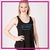 NYTBC Bling Must Have Tank with Rhinestone Logo