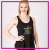 The Cheer Center Bling Must Have Tank with Rhinestone Logo