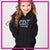 CDX Elite Bling Pullover Hoodie with Rhinestone Logo