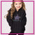 Pacific Beach High Desert Bling Pullover Hoodie with Rhinestone Logo